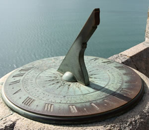 Measuring Time - sundial