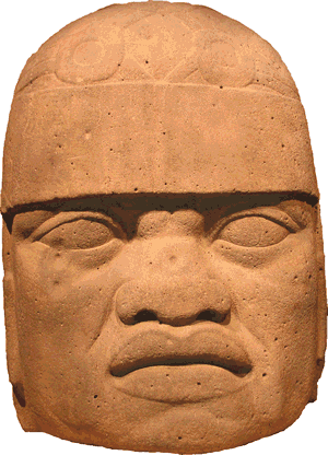 The Olmecs - Olmec Colossal Head #6