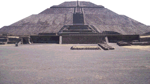 America Before Columbus - Pyramid of the Sun in Teotihuacan